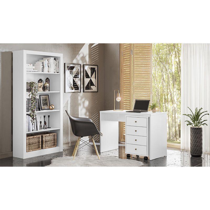 Presence Storage Drawers on Wheels- White